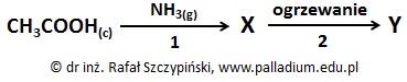 Ocena poprawności zdań dotyczących określonych związków organicznych będących pochodnymi kwasu etanowego