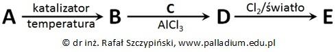 Ocena poprawności zdań dotyczących struktury związku chemicznego oraz mechanizmu reakcji chemicznej