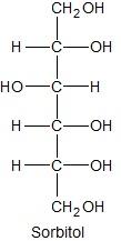 Określanie nazwy systematycznej sorbitolu oraz liczby asymetrycznych atomów węgla w cząsteczce (izomeria optyczna)