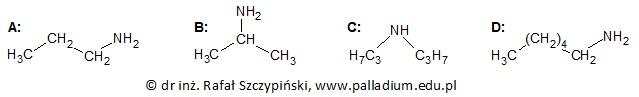 *Określanie nazw systematycznych wybranych amin