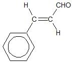 Analiza budowy cząsteczki aldehydu cynamonowego