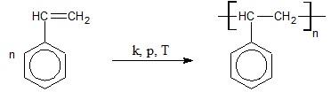 Obliczanie masy styrenu niezbędnej do otrzymania polimeru o określonej długości łańcuchów