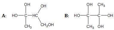 Wybór trwalszego spośród dwóch izomerycznych alkoholi zawierających cztery atomy węgla w cząsteczce